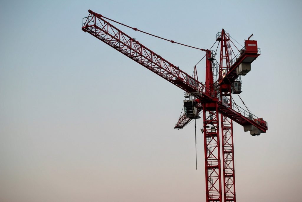 Crane Rental in California 1