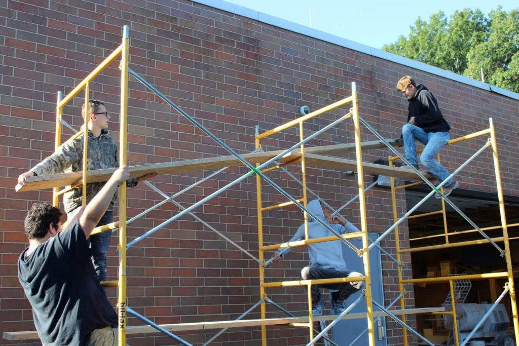 Masonry Scaffolding Rental in Wyoming 4