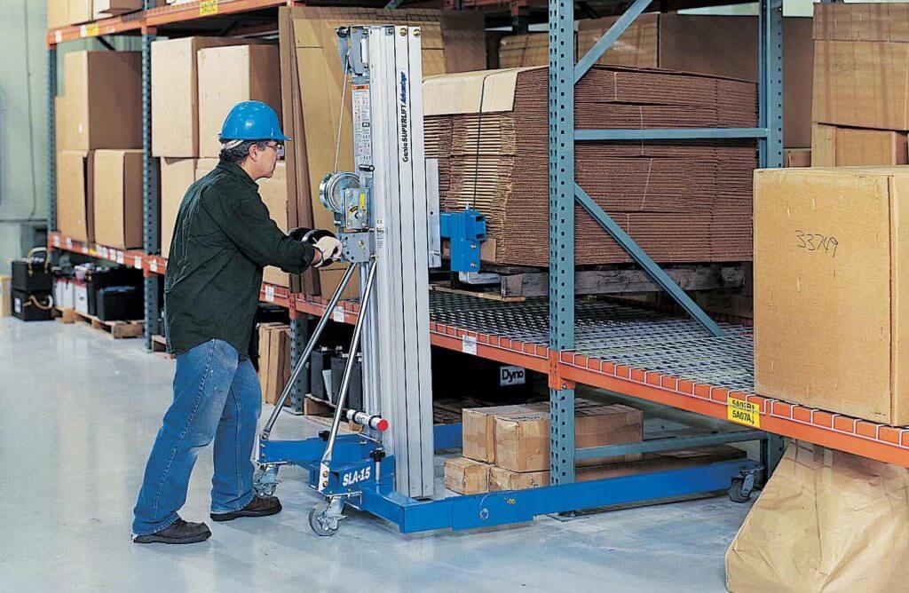 Material Lift Rental in Alaska 1