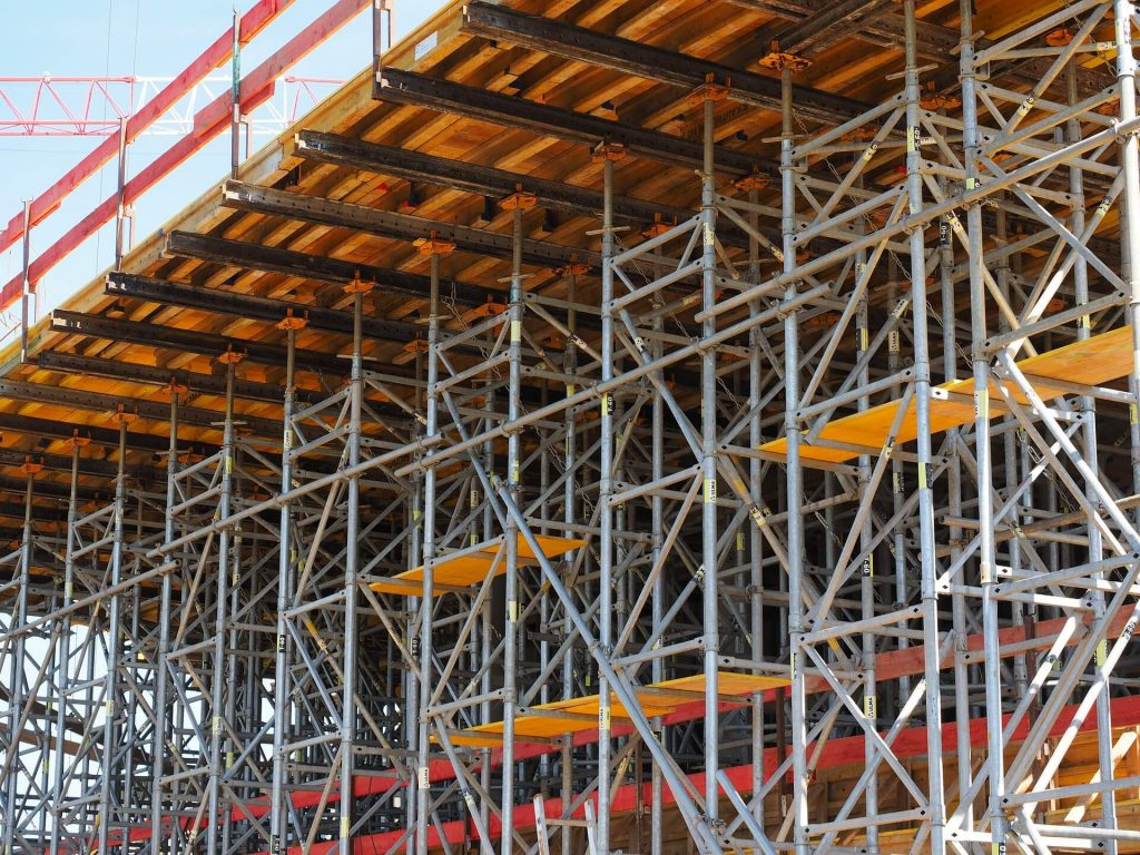 Plaster Scaffolding Rental in California 3