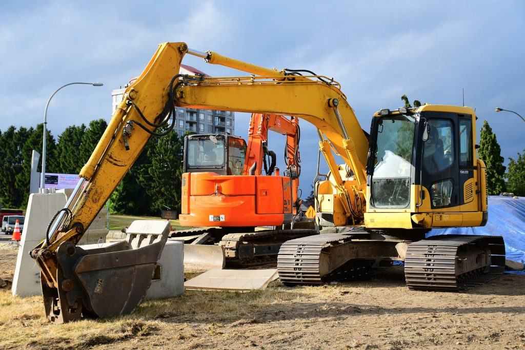 Excavator Rental in Washington 1