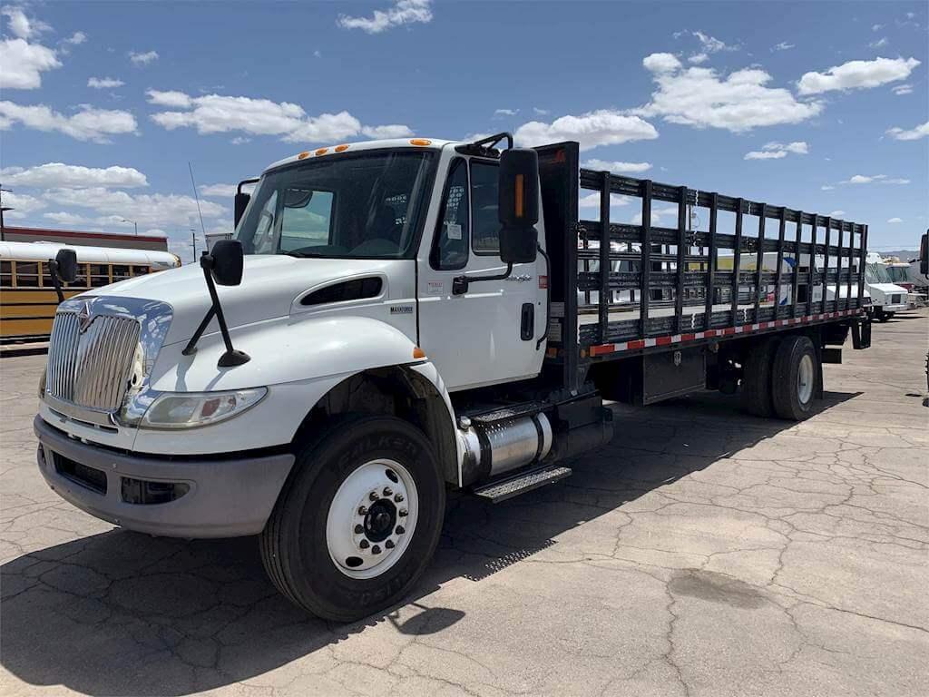 Stake Bed Truck Rental in California 6