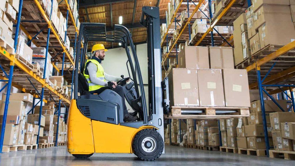 Warehouse Forklift Rental in Alaska 1