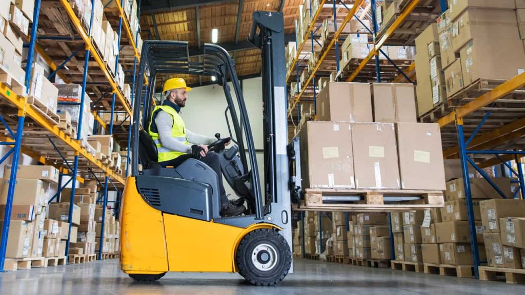 Warehouse Forklift Rental in California 1